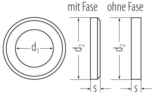 U-Scheiben DIN 125 Ms. 10,5mm