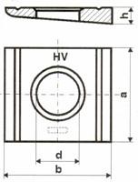 HV-KEILSCHEIBEN FVZ 6918 17MM