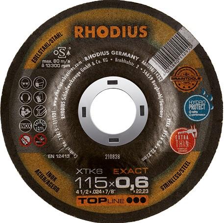 Rhodius XTK6 EXACT Edelstahltrennscheibe