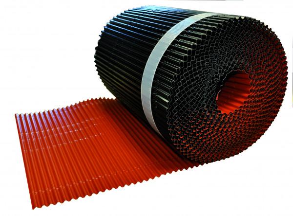 Green-Fast® Traufrolle Alu plissiert 240 mm