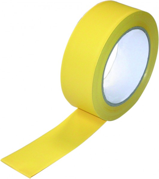 Putzerband gelb (PVC) 50mm x 33m