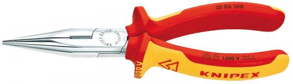 KNIPEX Flachrundzange mit Schneide 200mm