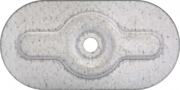 TWISTEC® Teller vz Oval 80x40x1,0