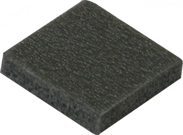 PE-Schaumstoff-Puffer schwarz 40x40x20