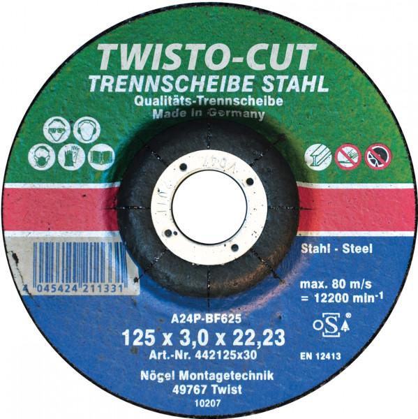 TWISTO-CUT Trennscheibe Stahl 115x3,0x22