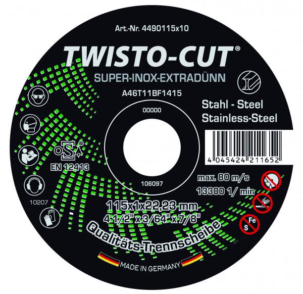 TWISTO-CUT® SUPER-INOX