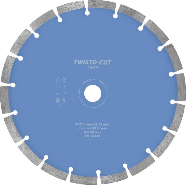 TWISTO-CUT Diamant-Trennsch. TYP450
