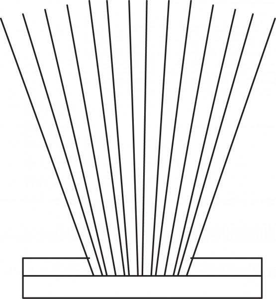 Profilia Bürstenprofil 4,8x6,0 2P