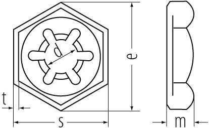 SICHERUNGSMUTTERN FVZ 7967 M20