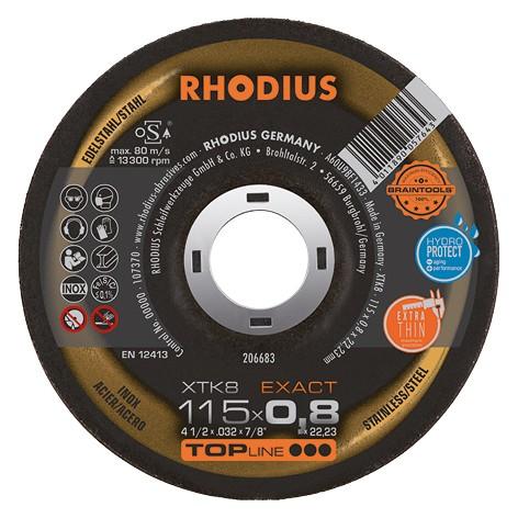 Rhodius XTK8 EXACT Edelstahltrennscheibe
