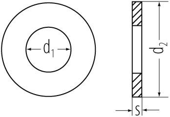 U-Scheiben vz 126 11mm