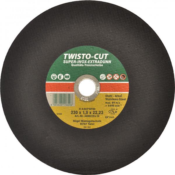 TWISTO-CUT SUPER-INOX 125x1,5x22