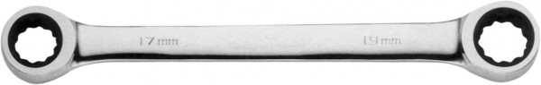 Doppel-Ratschenringschlüssel SW 10x13mm
