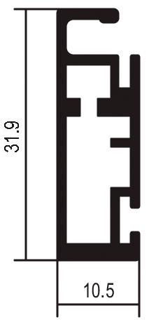 Musterkette Rahmenprofile