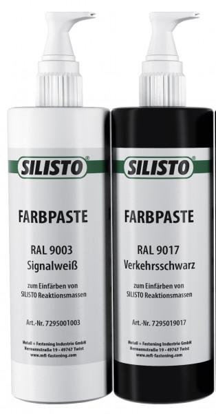 SILISTO Farbpaste Schwarz 50 ml