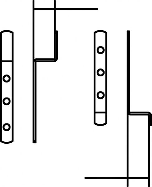Profilia Einhängewinkel 5 mm