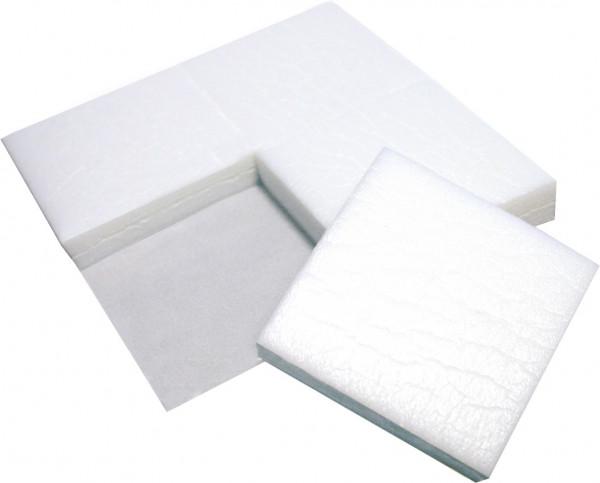 PE-Schaumstoff-Puffer weiß 40x40x10