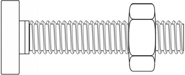 Zylinderstifte DIN 7 roh 4.8