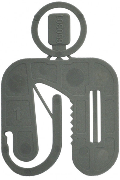 Twisto-Click Distanzplatten grau 50x50x1