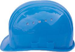 Schutzhelm blau