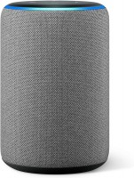 Der neue Amazon Echo (3. Generation), smarter Lautsprecher mit Alexa, hellgrau