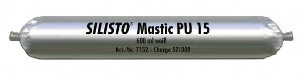 SILISTO Mastic PU 15 weiß 600 ml