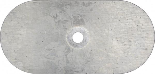 TWISTEC® Teller vz Oval Gesenkt 82x40mm