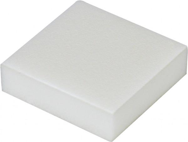PE-Schaumstoff-Puffer weiß 50x50x25