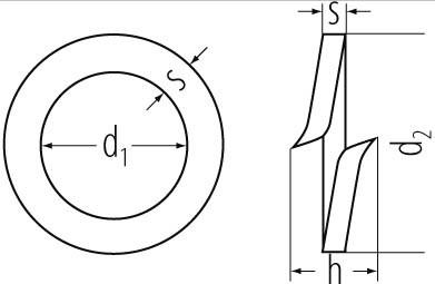 Federringe DIN 7980 A2 5mm