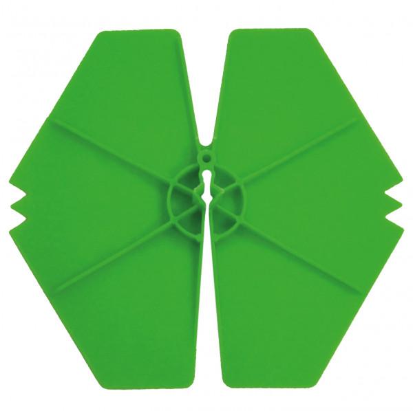 ISO-Clip Klemmscheibe grün, 100mm