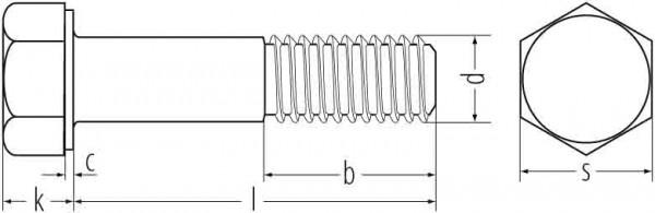 6KT.SCHR. FVZ 931 8.8 M16x50 ISO