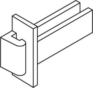 Profilia Sprossenverbinder
