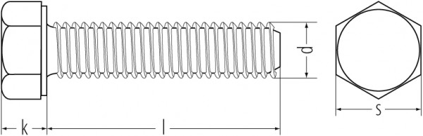 6KT.SCHR. VZ 933 8.8 M6x80