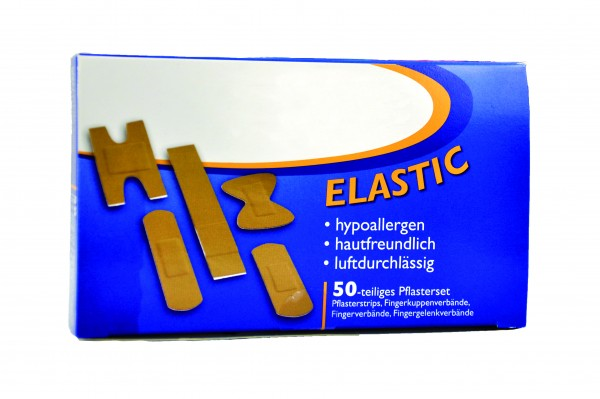 Actiomedic Elastic Pflasterset, 50tlg.